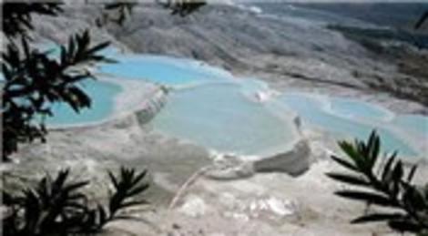 Pamukkale'de bataklık Naturel Park'a dönüştürülüyor