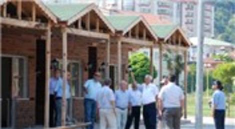 'Yöresel Tanıtım Evleri'nin inşaatı bitiyor