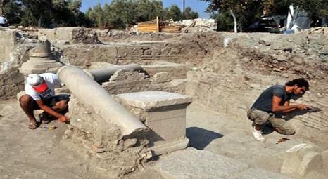 """Arkeolojik kazıda """"muayenehane"""" bulundu"""