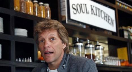 Bon Jovi'den yoksullar için restoran!