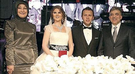 Süleyman Çetinsaya oğlunu evlendirdi!