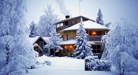 Dağ evinin atmosferine yer açın