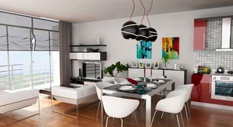 Örnek dairelerin maliyeti 90 bin Euro'yu buluyor!