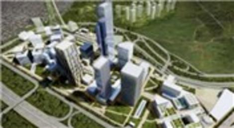 Ataşehir Finans Merkezi'nin çevresi değişiyor