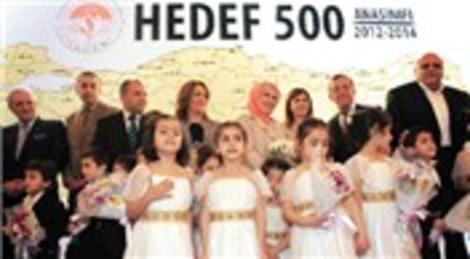 Emine Erdoğan ve TOGEM 500 anaokulu açacak!
