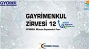 12. Gayrimenkul Zirvesi ve İSTANBUL REstate Fuarı 10 Mayıs'ta başlıyor!