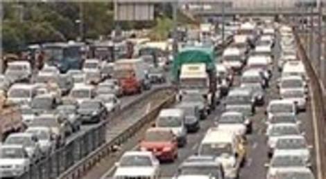 TEM'de Ağustos'a kadar trafik çilesi!