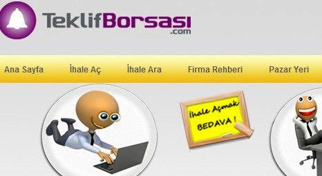 Gayrimenkul ve inşaat pazarı TeklifBorsasi.com'da buluşuyor !