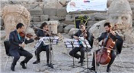 Borusan Quartet Nemrut Dağı'nda konser verdi!