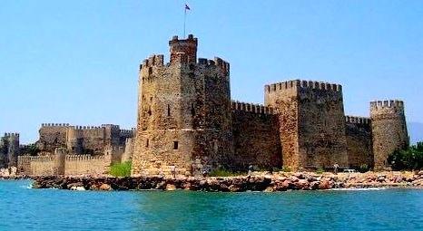 Mersin Anamur Mamure Kalesi UNESCO Dünya Mirası Geçici Listesi'ne girdi!