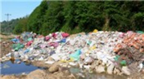 Rize Pazar'da organik tarım havzası çöplük oldu!