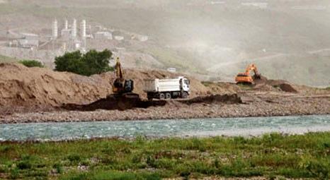 Dersim Pembelik Barajı inşaatı Peri Suyu'nu yutacak!