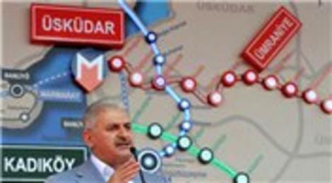 Üsküdar-Sancaktepe Metrosu 38 ayda tamamlanacak!