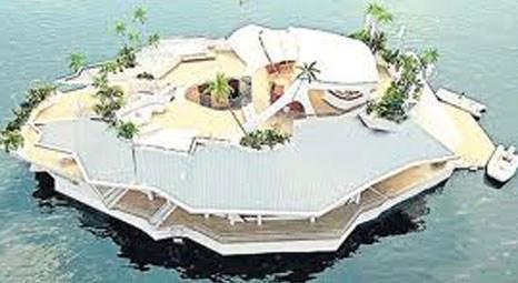 Orsos Islands yüzen ada inşa etti!