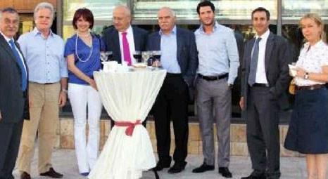 Yüksel Holding, Yüksel İnşaat'ın terasında parti verdi!