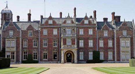 Kraliçe Elizabeth Prens William'a Sandringham'daki dev şatoyu hediye etti!