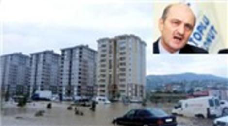TOKİ Samsun sel felaketinde DSİ'yi suçluyor!