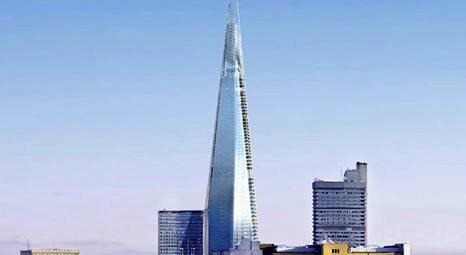 Avrupa'nın en yüksek binası  London Bridge Shard açıldı!