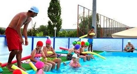 Gölbaşı Belediyesi TOKİ Yüzme Okulu'nu faaliyete geçiriyor!