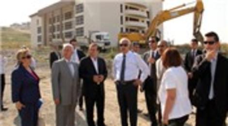 Hüseyin Avni Mutlu, City Center inşaatını denetledi!