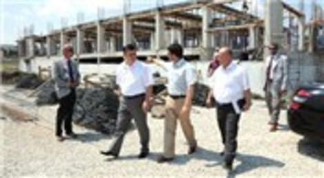 Balıkesir Valisi Yılmaz Arslan, yapımı devam eden inşaatları inceledi!