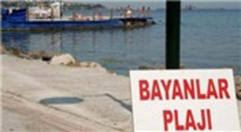 Tekirdağ Marmara Ereğlisi'nde kadınlara özel plaj yapıldı!