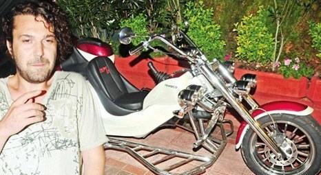 Halil Sezai 35 bin dolara özel motosiklet yaptırdı!