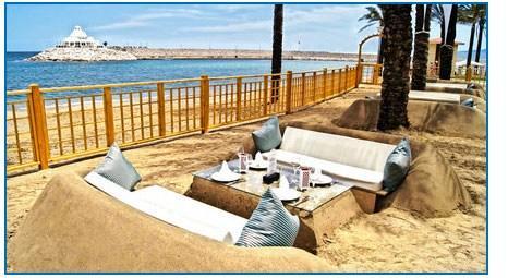 Rixos Sungate Oteli'nde bebeklere özel plaj yapıldı!