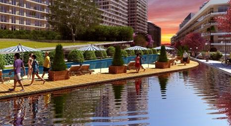 Konut projeleriyle suyla birlikte otel konforu sunuyor!