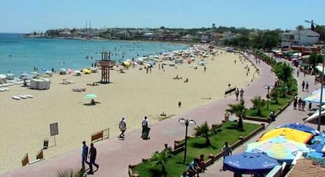 Aydın Didim'deki Altınkum Plajı turistlerin gözdesi oldu!