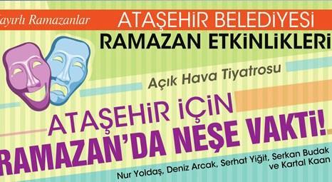 Ataşehir Belediyesi, Tiyatro TIR'ı ile ramazanda mahalleleri dolaşacak!