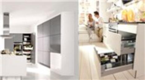 Nolte, mutfak çekmece ve dolapları ile farklılık peşinde!
