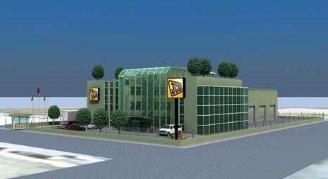 JCB'den Ankara'ya Leed Gold sertifikalı bina!