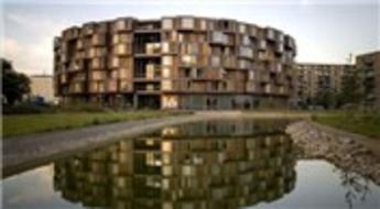 Kopenhag'da 360 dairelik lüks öğrenci yurdu!