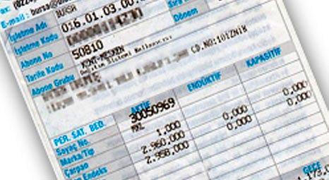 Elektrik faturalarına kaçak elektrik bedeli kesintisi yansıtılmayacak!