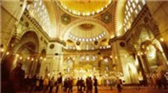 Süleymaniye Camisi'nin doğal akustiğinde hiçbir problem yok!
