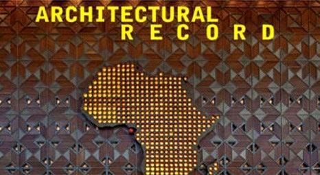 Tabanlıoğlu Mimarlık, Sipopo Kongre Merkezi'yle Architectural Record'a kapak oldu!