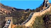 Çin Seddi'nin 30 metrelik kısmı işçinin hatası yüzünden yıkıldı!