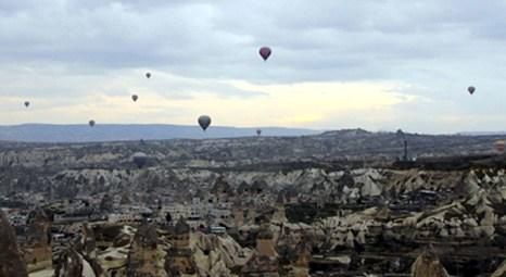 Kapadokya'da balon turizminden 33 milyon euro!
