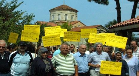 Trabzon Ayasofya Müzesi ibadete açılmasın tepkisi!