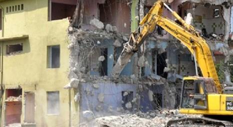 Kentsel dönüşümde hurda karşılığı bina yıkımı bedava!