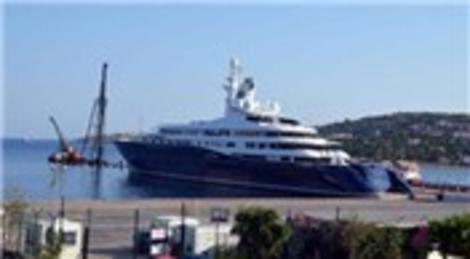 Katar Emiri'nin yatı Al Mirqab İstanbul'da! Marinalara sığmıyor!