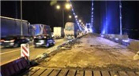 Fatih Sultan Mehmet Köprüsü'ndeki bakım 22 Ağustos'ta bitecek!