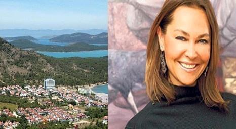 Hülya Avşar Ayvalık'tan 3 milyon liraya villa aldı!