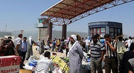 AFAD'dan Suriyelilere sınırın sıfır noktasında insani yardım!