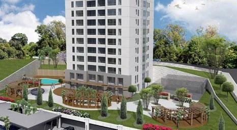 Ataşehir Buz Residence'ta 430 bin TL'ye 2+1!