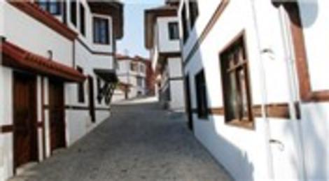 Eskişehir Odunpazarı'ndaki evler renkli duvarlarıyla UNESCO Listesi'ndeki yerini sağlamlaştıracak!