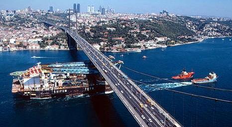 İstanbul ve Çanakkale Boğazı'ndan geçen gemi sayısı azaldı!