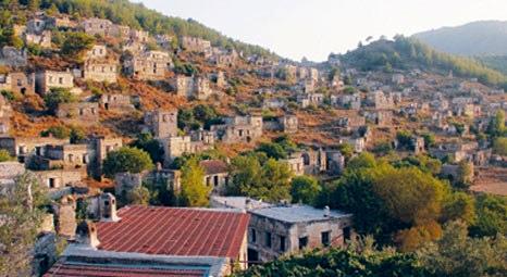 Fethiye  Kayaköy'de, eski Rum evlerine koruma amaçlı imar planı bekleniyor!