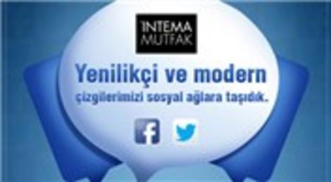 İntema Mutfak, Facebook ve Twitter'la sosyal medyaya adım attı!